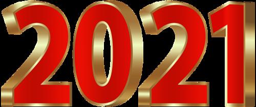2021数字立体艺术字