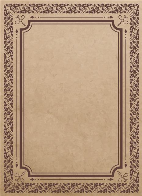 欧式照片边框模板