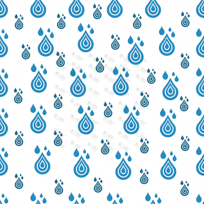 蓝色水滴雨滴背景