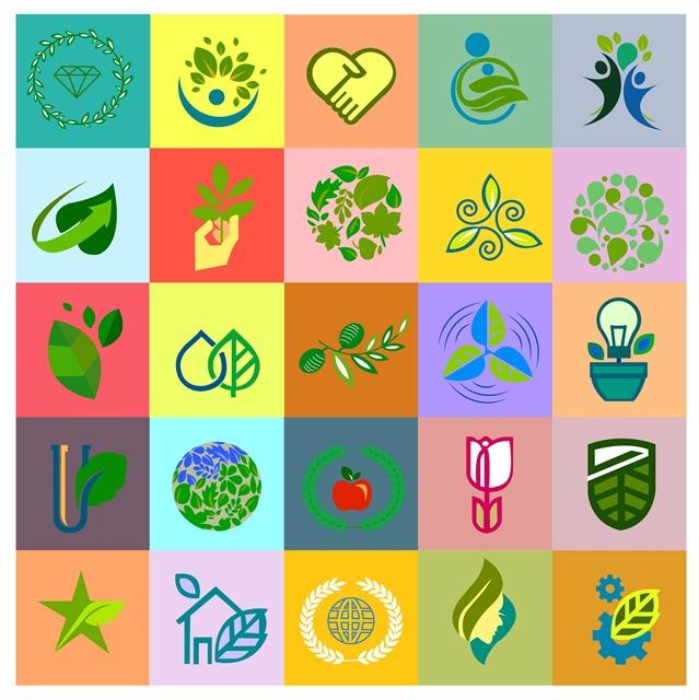绿色生态logo