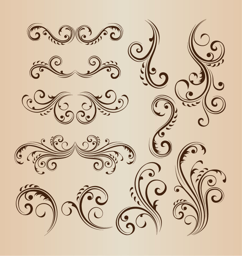 蝴蝶花纹图案背景图片
