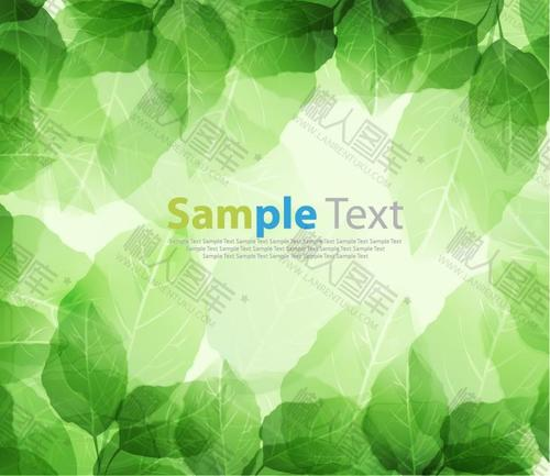 绿色ppt背景图