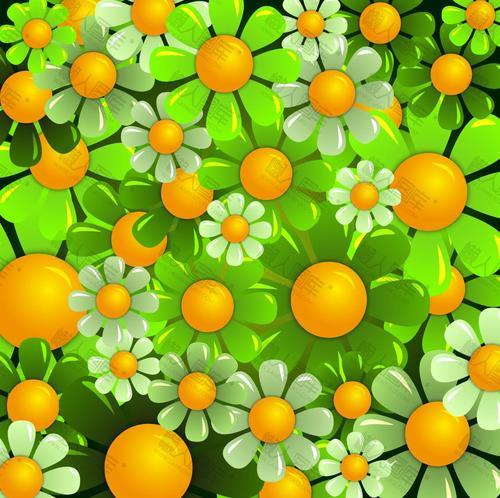 绿色天然背景图片