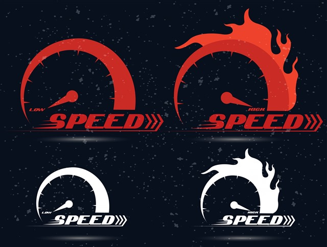 速度元素设计图案