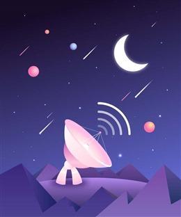 动画宇宙背景图片