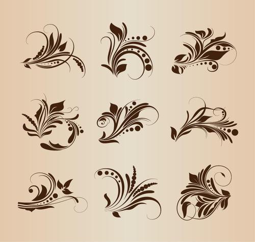 9款花纹背景图片