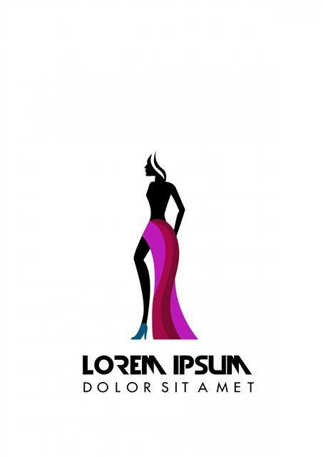 时尚女装logo图案
