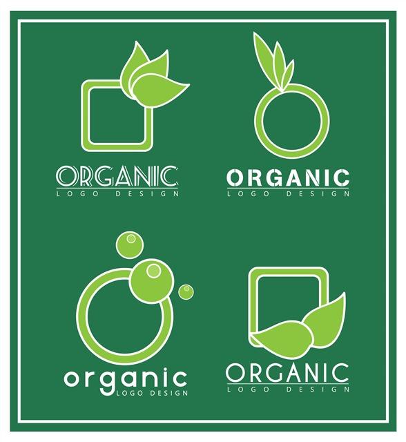 绿色环保徽章