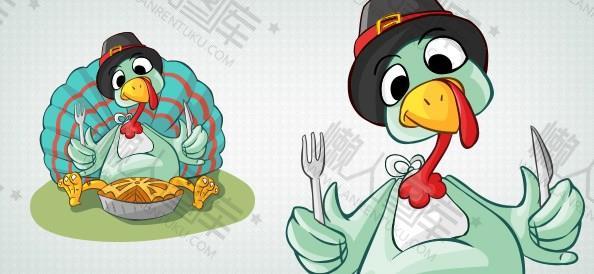 感恩节创意火鸡图片