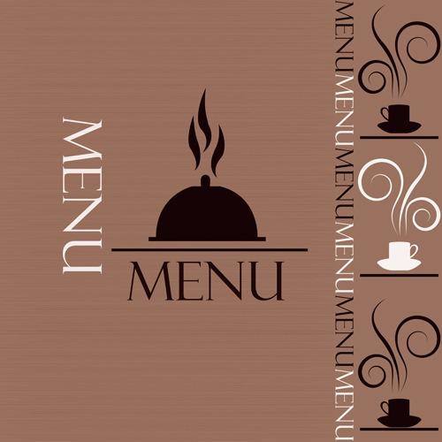 西餐厅菜单封面设计图