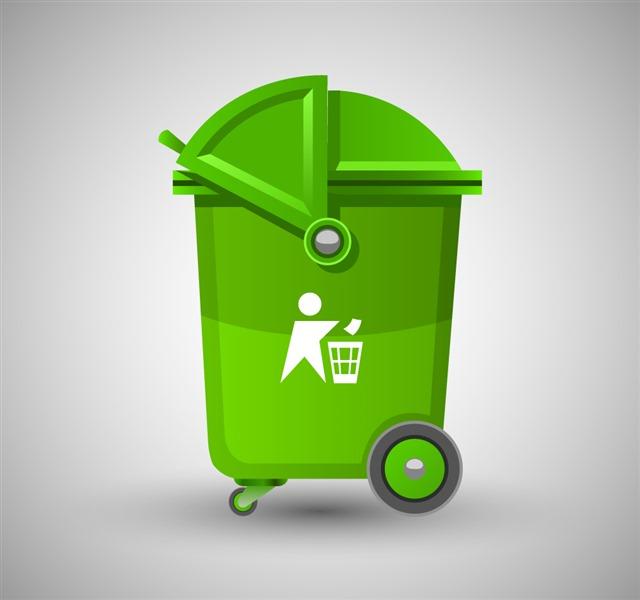 回收垃圾桶图标