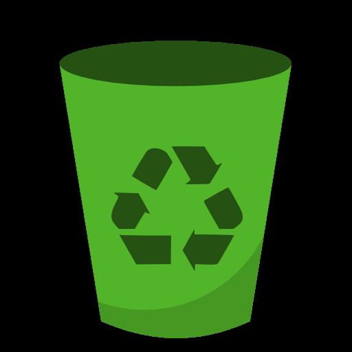 回收垃圾桶矢量图标