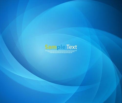 蓝色现代科技风背景