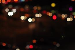 城市夜晚灯光