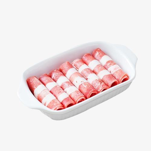 羊肉卷火锅食材图片