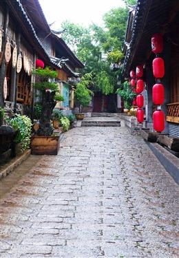 古风街道图片