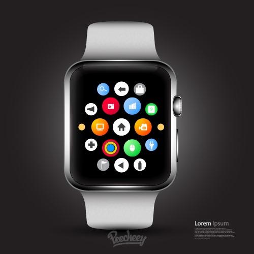 苹果Watch智能手表展示样机