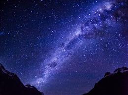 唯美高清星空背景图