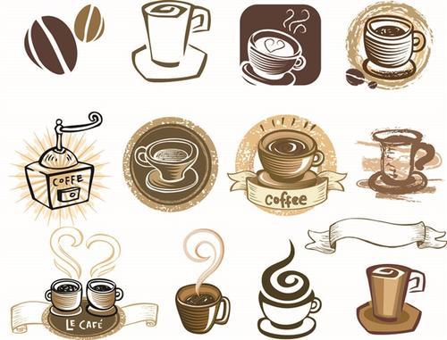 咖啡咖啡杯矢量元素