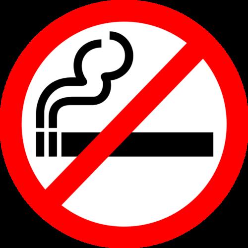 公共标识禁止吸烟标志图片