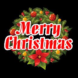 英文圣诞快乐艺术字