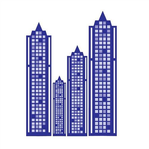 摩天大楼效果图