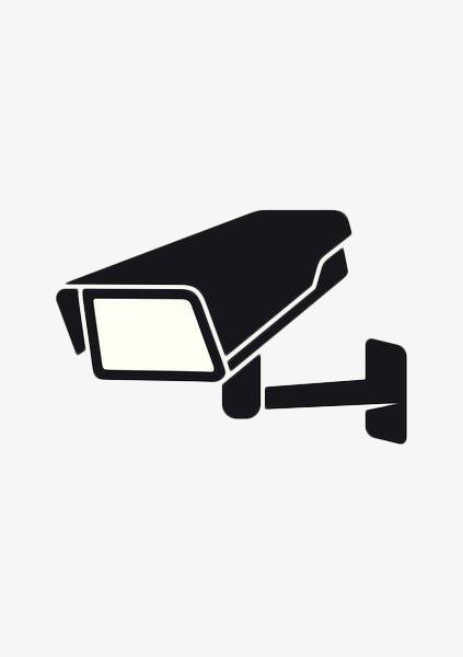 扁平化监控摄像头图标