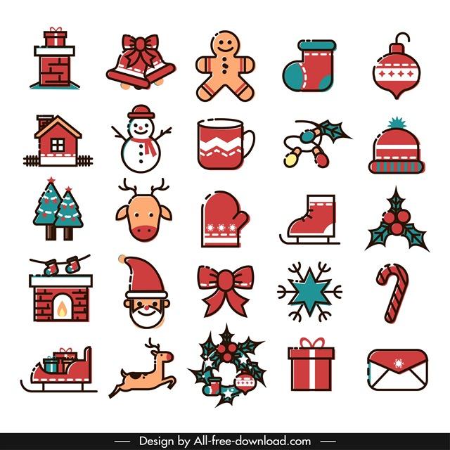 圣诞节小元素图片