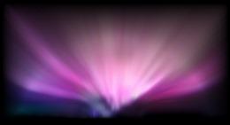 极光星空背景图片