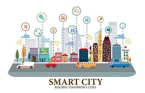 智慧城市概览图