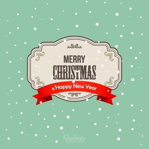 圣诞节清新装饰图案