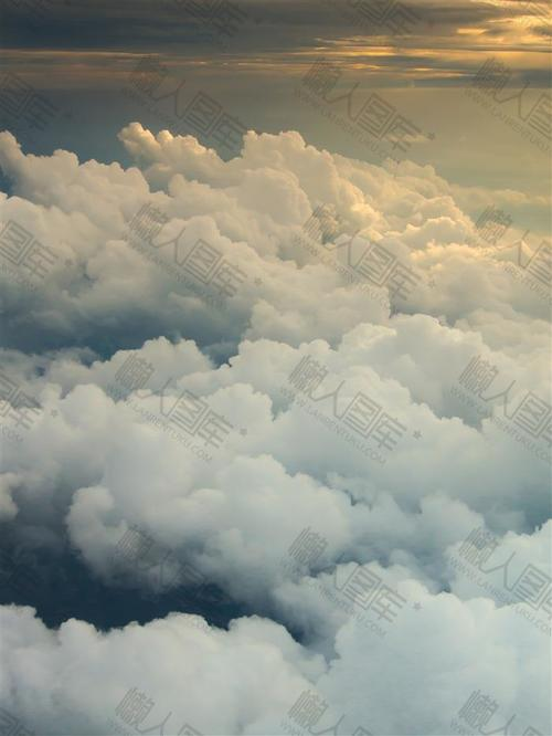 天空积云背景素材