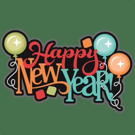 新年快乐英文卡通字体