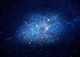 浪漫唯美星空背景图