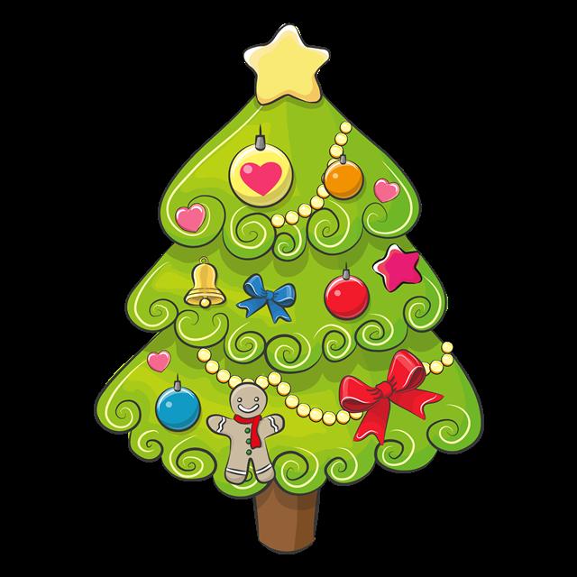儿童圣诞树图片