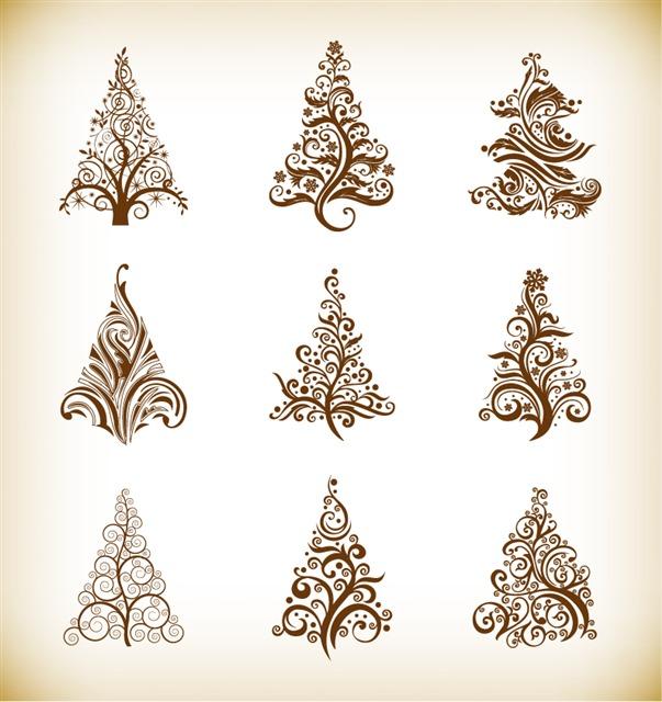 圣诞树元素