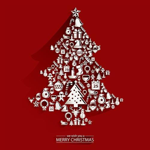 圣诞节贺卡制作