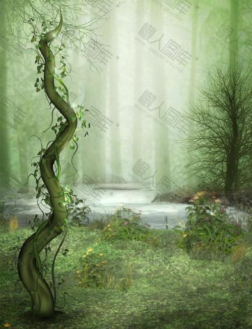 森林背景墙图片大全