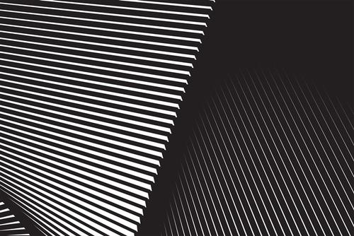 黑白几何空间背景