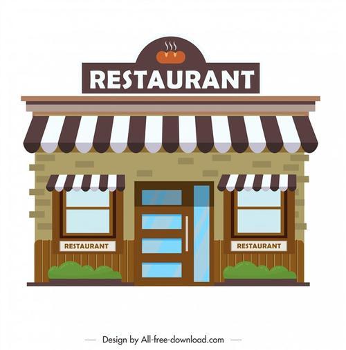 餐厅门面设计效果图