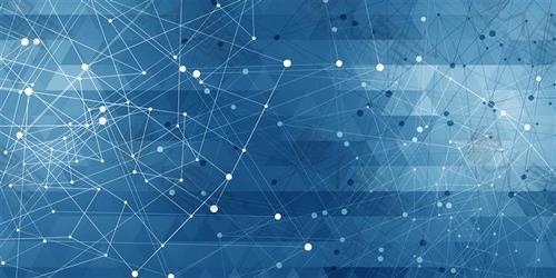 几何线条科技背景图片