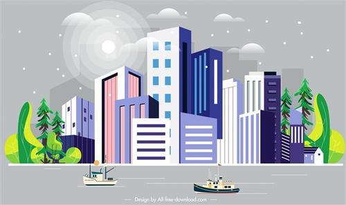 未来城市AI设计图