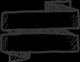 黑白手绘标题框