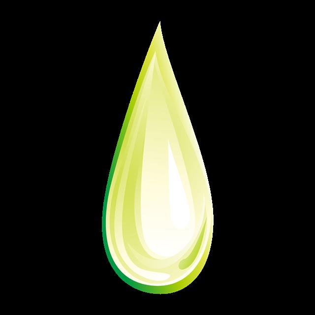 绿色环保水滴矢量插画