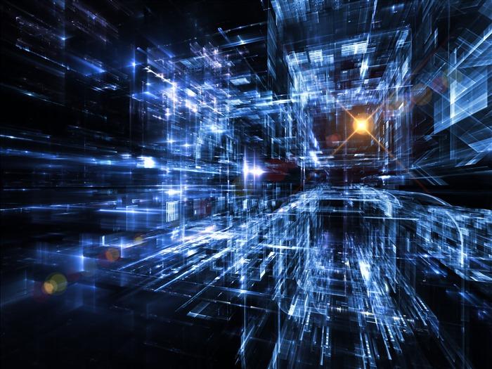 网络科技背景