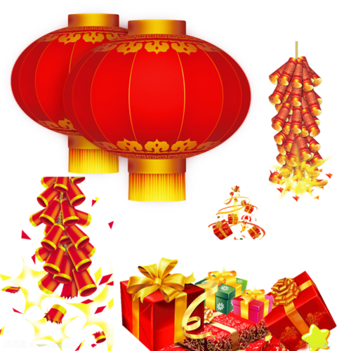 春节装饰元素图片