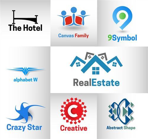 各大地产logo