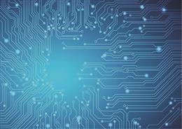科技电路板背景图