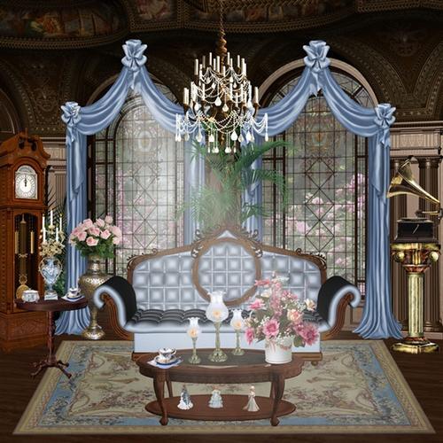 欧式客厅背景墙