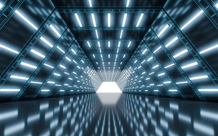 空间隧道背景